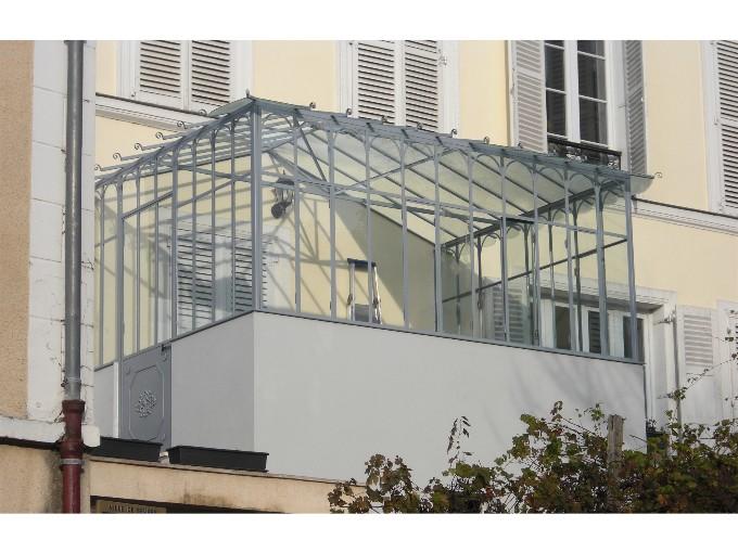Porte vitr e m tal s paration pi ce - Porte coulissante style atelier ...